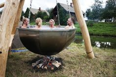 Homestead Hot Tub - Add some friends, some carrots, some potatoes... @