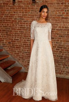 Spring 2015. Wedding dress by David's Bridal