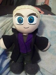 A cute little Spike doll complete with Buffy knickers and a blanky.
