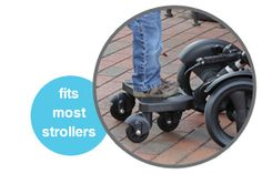Ride-along for older siblings! STROLLER BOARD - Accessories - Britax USA (compatible w/all Bob Strollers)