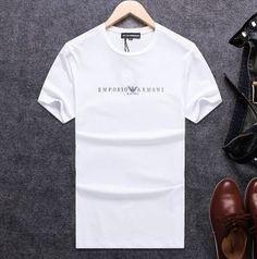 484e2f28cd03 抜群の吸汗性のARMANIエンポリオアルマーニスーパーコピーの2018新作メンズクルーネック半袖Tシャツです。シルバー×ブラックのイーグルマークのバックプリントが存在感  ...