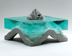 CULTURE N LIFESTYLE — Exquisite Glass Ocean Sculptures Reflect the Deep...