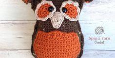Autumn Owl Amigurumi • Spin a Yarn Crochet