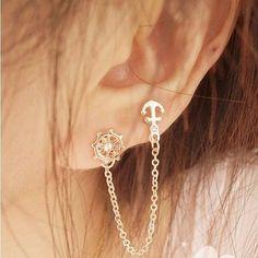 Silver Bar Stud earrings in Sterling Silver, short silver bar stud, sterling bar post earrings, silver drop earring, minimalist jewelry - Fine Jewelry Ideas - second ear piercing ideas - Ear Piercings Faux Piercing, Double Ear Piercings, Pretty Ear Piercings, Double Cartilage, Tongue Piercings, Dermal Piercing, Cartilage Piercings, Ear Jewelry, Cute Jewelry