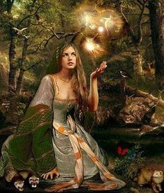 airmid goddess of healing | Airmid – Celtic Goddess of Healing and Herbal Lore