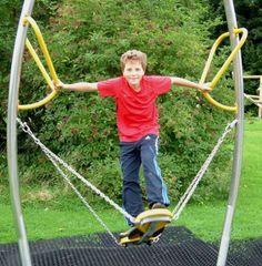 Air Rider Playground Equipment