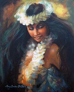 The hula in me represented in this artwork by Mary St. Hawaiian Woman, Hawaiian Art, Hawaiian Tattoo, Polynesian Art, Polynesian Culture, Polynesian Islands, Dance Oriental, Hawaiian Dancers, Hula Dancers