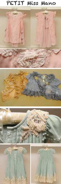 the last dress is sooo sweet!
