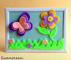 Butterflies and flowers-Πεταλούδες και λουλούδια