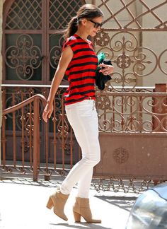 Cute Katie Holmes outfit