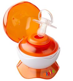 Pipila - UV Pacifier Sterilizer, Orange | GreenCupboards