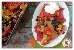 Nacho Ordinary Cinco De Mayo: HoneyBaked Ham & Black Bean Nachos: