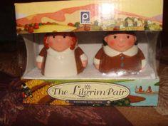 Publix Salt and Pepper Shakers Lilgrims Pilgrim Limited Edition No Longer Available by Publix. $29.99