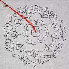 Best 12 Video+pattern tutorial/pattern crochet rug from cord ! Video ONLY RUSSIAN LANGUAGE! LacePistachio rug, Crochet rug manual by Lacemats Cushion Embroidery, Hand Embroidery Videos, Embroidery Stitches Tutorial, Embroidery Flowers Pattern, Creative Embroidery, Simple Embroidery, Learn Embroidery, Hand Embroidery Stitches, Silk Ribbon Embroidery