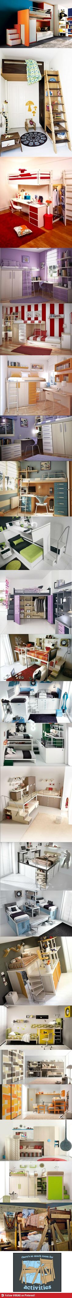 Just some LOFT and BUNKBEDS... I want a loft bed!!!!!!!!!!!!!!!!!!!!!!!