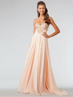 Bodenlang Schönes Elegantes Abendkleid lang
