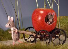 игрушки - мыши - Мэгги Руди, Maggie Rudy Mouses