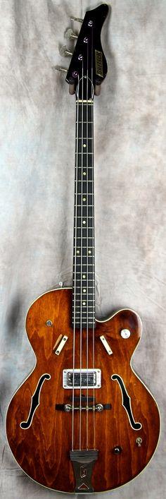 Gretsch 6070 Bass 1968 Walnut | Reverb
