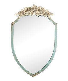 Another great find on #zulily! Floral Florence Wall Mirror #zulilyfinds