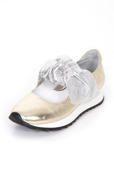 Puna 0200 Spor GOLD - LAME | Sneakers