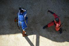 Nagyvázsony (Magyarország) - Kinizsi vár - Swordsmen - 12 Golf Bags, Deadpool, Superhero, Sports, Character, Hs Sports, Sport