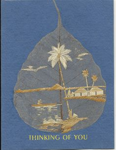 Original leaf art No two leaves or leaf art exactly by museumshop, $6.99