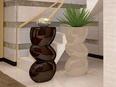 Colonne piedestal, mod: FORMAS Vase, Home Decor, Shapes, Contact Form, Interior Design, Vases, Home Interior Design, Home Decoration, Decoration Home