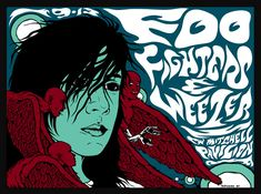 GigPosters.com - Foo Fighters - Weezer