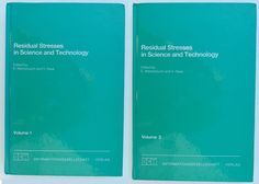 Residual Stresses in Science and Technology Vol. Stress, Science And Technology, Ebay, Anxiety