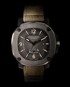 Burberry swiss watch (distressed)
