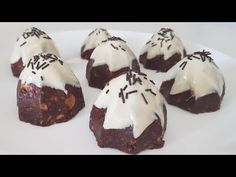 FĂRĂ COOKİNG! Acest tort este foarte ușor! Gata de 5 minute, proaspăt și ieftin # 299 - YouTube Fresco, Tea Biscuits, Honey Cake, No Cook Desserts, Chocolate Recipes, Chocolate Cakes, Afternoon Tea, Biscotti, Food Videos