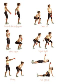 kettle bells great for building muscle and toning