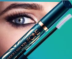 Offer this Mascara yo your lashes to complete a look like false eyelashes The XXL Wonder Lash The ONE of Oriflame with a soothing formula that leaves no lumps or stain! Discover the results of an eyelash cover. Blinc Mascara, Mascara Brush, 3d Fiber Lash Mascara, Mascara Tips, Fiber Lashes, The One, Mascara Tutorial, Oriflame Business, Hair And Beauty