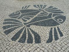 Beautiful fish pavement in Lagos, Portugal  http://www.ownersdirect.co.uk/accommodation/p8025266
