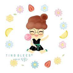 스윗한 요정 팅글리, 코코 Sweet fairy TingGlees, Coco . #tingglees #tingglee #coco #sweets #sweetfairy #character #illustration #design #팅글리 #코코 #스윗한요정 #캐릭터 #디자인 #일러스트