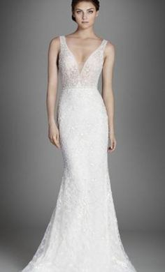 #wedding #mybigday Lazaro TS 3558 8: buy this dress for a fraction of the salon price on PreOwnedWeddingDresses.com