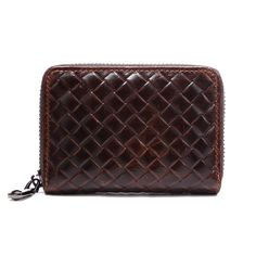 Brand Vintage Credit&ID Card Holder Purse Business Card Coin Wallet Men&Women's Card Purse