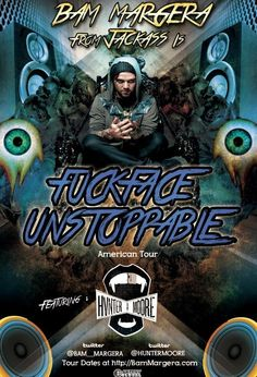 April 19 @ Tomcats West - Fuckface Unstoppable [Bam Margera with CKY] | Hunter Moore