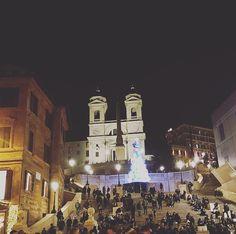 Trinità dei Monti - Piazza di Spagna - Roma ❤✨