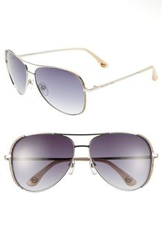 #MICHAEL Michael Kors     #Eyewear                  #MICHAEL #Michael #Kors #'Sadie' #59mm #Aviator #Sunglasses #Silver #Size     MICHAEL Michael Kors 'Sadie' 59mm Aviator Sunglasses Silver One Size                                    http://www.snaproduct.com/product.aspx?PID=5469296