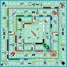 Ultimate Monopoly - Free image on Pixabay Monopoly Board, Monopoly Game, Make Your Own Game, Make Your Own Monopoly, Drinking Board Games, Homemade Board Games, Printable Board Games, Cafe Concept, Playing Card Games