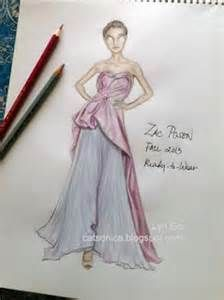 Zac Posen sketches - Bing Images
