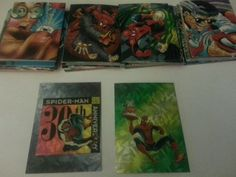 Spiderman fleer 1994 lot #cards rare #included #marvel 30th anniversary,  View more on the LINK: 	http://www.zeppy.io/product/gb/2/151848086658/
