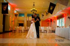 Dancing in our Grant Ballroom, the original dance hall used for cadets. - at The Thayer Hotel at West Point. Copyright: Photography by Cynthia