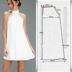 Dress Sewing Patterns, Blouse Patterns, Clothing Patterns, Fashion Sewing, Diy Fashion, Fashion Dresses, Diy Clothing, Dress Making, Casual Dresses