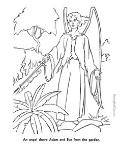 Free Printable Bible Coloring Pages Of Abel