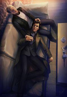 sherlock: Sherlock and John by MathiaArkoniel.deviantart.com on @deviantART
