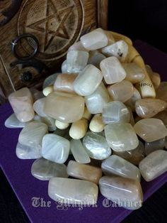 Moonstone for Moon Magic, Polished, Healing Crystals, Come join us at the official Magick Cabinet http://www.themagicakcabinet.com and get FREE shipping on your first order with code: WELCOME2U