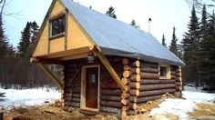 - Slik bygde jeg denne hytta for under 3.000 kroner
