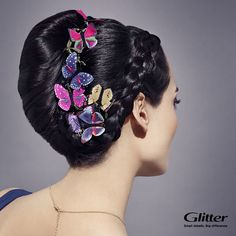 Classic french hair bun works every time and it can be styled in many ways like adding braiding and butterfly decorations! See how to do this here https://www.youtube.com/watch?v=B_UtDvIiKIA #hairdo #bun #braid #braided #frenchbun #hairdecoration #hairproducts #hairtool #hairproduct #hair #hairguide #thehairguide #fashion #howto #butterfly #glitterhaireverywhere
